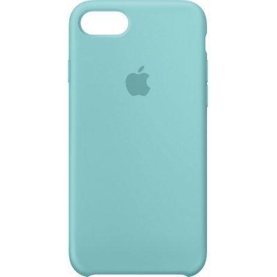Чехол для смартфона Apple iPhone 7 Silicone Case - Sea Blue (MMX02ZM/A)Чехлы для смартфонов Apple<br>силиконовый чехол для iPhone 7, плотно прилегает к кнопкам громкости и режима сна, точно повторяет контуры смартфона, но при этом не делает его громоздким, мягкая подкладка из микроволокна защищает корпус iPhone<br>