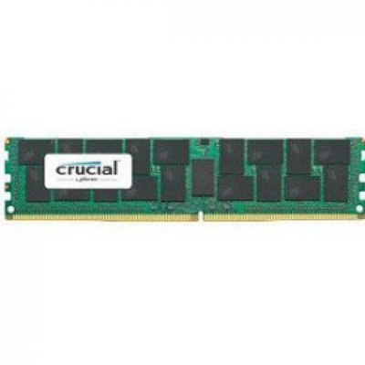 Модуль оперативной памяти ПК Crucial CT32G4LFD424A (CT32G4LFD424A)Модули оперативной памяти ПК Crucial<br>Crucial by Micron DDR4 32GB (PC4-19200) 2400MHz ECC Registered Load Reduced DR x4 (Retail)<br>