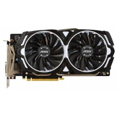 Видеокарта ПК MSI GeForce GTX 1060 1544Mhz PCI-E 3.0 3072Mb 8008Mhz 192 bit DVI 2xHDMI HDCP (GTX 1060 ARMOR 3G OCV1)