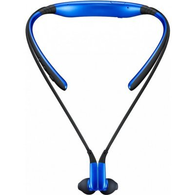 Bluetooth-гарнитура Samsung Level U синий (EO-BG920BLEGRU) гарнитура bluetooth для сот телефона samsung eo mg920 black eo mg920bbegru