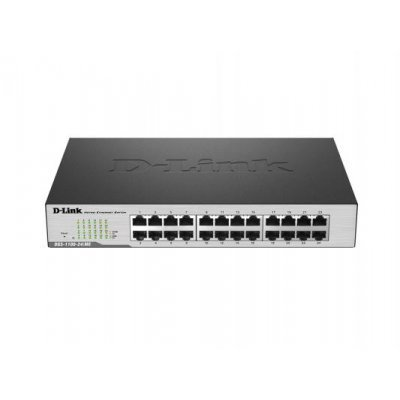 Коммутатор D-Link DGS-1100-24/ME/B2A (DGS-1100-24/ME/B2A)Коммутаторы D-Link<br>24-port 10/100/1000Base-T  Metro Ethernet Switch<br>