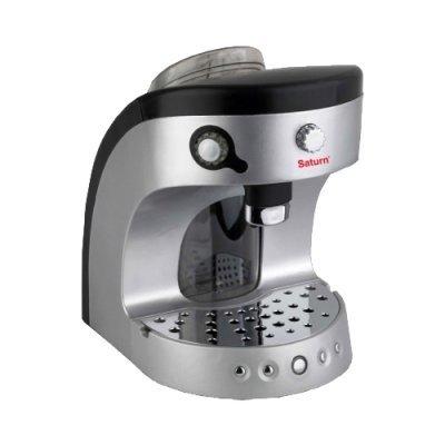 Кофеварка Saturn ST-CM 7085 (ST-CM 7085)Кофеварки Saturn <br>комбинированная кофеварка<br>для кофе в таблетках<br>корпус из пластика<br>