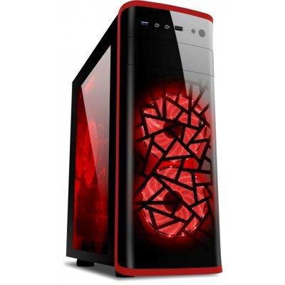 Корпус системного блока 3Cott 3C-ATX901GR Avalanche (3C-ATX901GR)Корпуса системного блока 3Cott<br>Корпус 3Cott 3C-ATX901GR Avalanche, Red, Game Pro Series, ATX, блок питания 800 Вт 80+ PFC, выходы<br>
