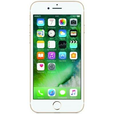 Смартфон Apple iPhone 7 32Gb золотистый (MN902RU/A)Смартфоны Apple<br>ОС iPhone iOS 10, экран: 4.7 дюйма, Retina, 1334?750, процессор: Apple A10Fusion, + Встроенный сопроцессор движения M10, камера: 12Мп, ГЛОНАСС, с защитой от пыли и влаги, время работы в режиме разговора, до: 14ч, в режиме ожидания, до: 240ч<br>