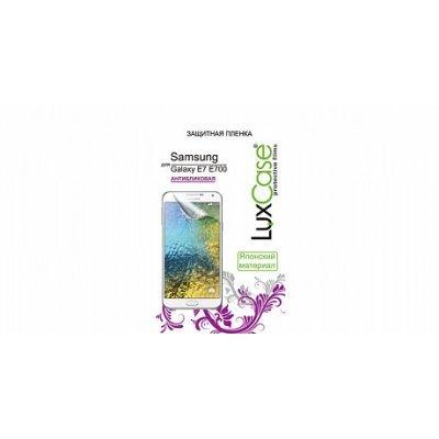 Пленка защитная для смартфонов LuxCase для Samsung Galaxy E7 (Антибликовая) (80895)