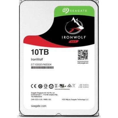 Жесткий диск серверный Seagate ST10000VN0004 (ST10000VN0004)Жесткие диски серверные Seagate<br>Жесткий диск SATA 10TB 7200RPM 6GB/S 256MB ST10000VN0004 SEAGATE<br>