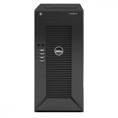 Сервер Dell PowerEdge T20 (210-ACCE-103T) (210-ACCE-103T)Серверы Dell<br>Tower/ E3-1225v3 4C 3.2GHz(8Mb)/ 8Gb(2x4Gb UDIMM 1600)/ On-board C226 SATA(2x3Gb/s+2x6Gb/s) RAID0/1/ 2x1Tb SATA 7,2k/ UpTo4LFF NHP/ UpTo2SFF NHP/noDVD/1xGE/PS290W/1YBWNBD<br>