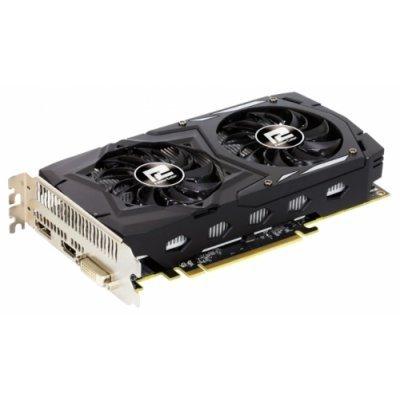 Видеокарта ПК PowerColor Radeon RX 460 1212Mhz PCI-E 3.0 4096Mb 7000Mhz 128 bit DVI HDMI HDCP (AXRX 460 4GBD5-DHV2/OC)Видеокарты ПК PowerColor<br>Видеокарта PowerColor PCI-E AXRX 460 4GBD5-DHV2/OC AMD Radeon RX 460 4096Mb 128bit GDDR5 1212/1750 DVIx1/HDMIx1/DPx1/HDCP Ret<br>