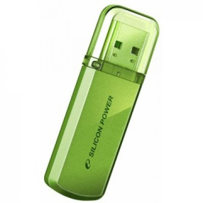 USB накопитель Silicon Power Helios 101 SP064GBUF2101V1N 64Gb зеленый (SP064GBUF2101V1N)USB накопители Silicon Power<br>Флеш Диск Silicon Power 64Gb Helios 101 SP064GBUF2101V1N USB2.0 зеленый<br>
