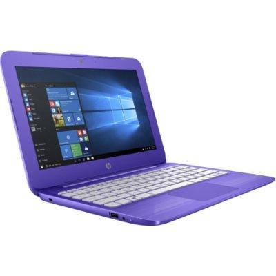 Ноутбук HP 11-y005ur (Y7X24EA) фиолетовый (Y7X24EA)Ноутбуки HP<br>HP Stream 11 CDC N3050 4Gb SSD 32Gb Intel HD Graphics 11,6 HD BT Cam 3900мАч Win10 Фиолетовый 11-y005ur Y7X24EA<br>