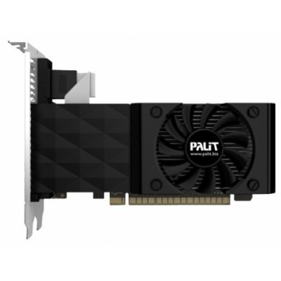 Видеокарта ПК Palit GeForce GT 730 700Mhz PCI-E 2.0 2048Mb 1400Mhz 128 bit DVI HDMI HDCP (NEAT7300HD41-1085F)