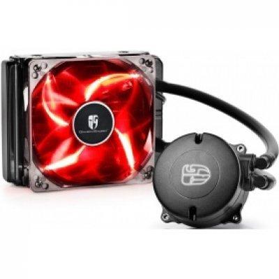 Система охлаждения для процессора DeepCool MAELSTROM 120T RED (MAELSTROM 120T RED) система водяного охлаждения kwb