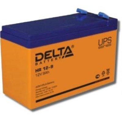 Аккумуляторная батарея для ИБП Delta HR 12-9 (HR 12-9) аккумуляторная батарея для ибп delta hr 12 28w hr 12 28 w