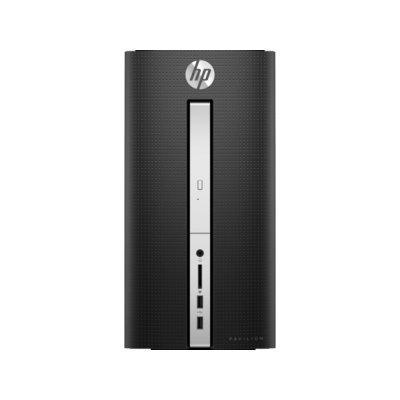 Настольный ПК HP Pavilion 510 510-p132ur (Z0J95EA) (Z0J95EA)Настольные ПК HP<br>Intel Core i3 6100T(3.7Ghz)/8192Mb/1000+8SSDGb/DVDrw/Ext:(4096Mb)/black/W10 + USB KBD, USB MOUSE<br>