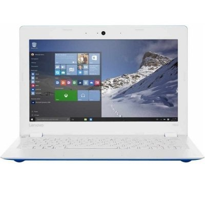 Ноутбук Lenovo IdeaPad 100S-11IBY (80R2003LRK) (80R2003LRK)Ноутбуки Lenovo<br>11.6(1366x768)/Intel Atom Z3735F(1.33Ghz)/2048Mb/32Gb/noDVD/Int:Intel HD/Cam/BT/WiFi/32WHr/war 1y/1kg/blue/W10 + 20W<br>
