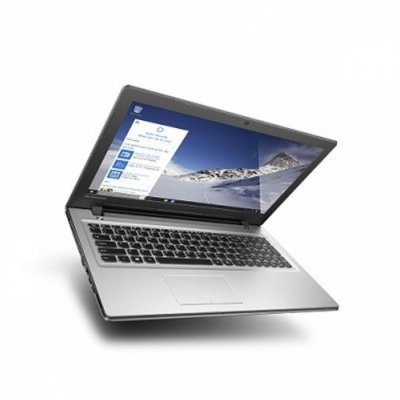 Ноутбук Lenovo IdeaPad 300-15IBR (80M300NNRK) (80M300NNRK)Ноутбуки Lenovo<br>15.6(1366x768)/Intel Pentium N3710(1.6Ghz)/4096Mb/500Gb/DVDrw/Ext:nVidia GeForce 920M(1024Mb)/Cam/BT/WiFi/32WHr/war 1y/2.3kg/silver/W10 + 45W<br>