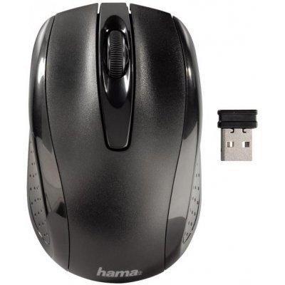Мышь Hama AM-7200 черный (86532)Мыши Hama<br>Мышь Hama H-86532 AM-7200 черный оптическая (800dpi) беспроводная USB (2but)<br>