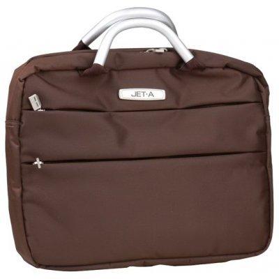 Сумка для ноутбука Jet.A LB13-04 коричневый (LB13-04)Сумки для ноутбуков Jet.A<br>Сумка для ноутбука Jet.A LB13-04 до 13,3 (Коричневый, качественный нейлон/полиэстер, современный дизайн<br>