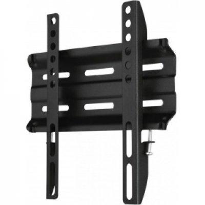 Кронштейн для ТВ и панелей Hama H-118106 черный (118106) кронштейн для тв и панелей настенный hama h 118669 23 65 черный 118669