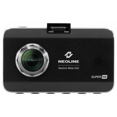 Видеорегистратор Neoline WIDE S50 черный (WIDE S50)Видеорегистраторы Neoline<br>видеорегистратор<br>запись видео 2560x1296 при 30 к/с<br>угол обзора 145°<br>с экраном 3 320x240<br>датчик удара (G-сенсор)<br>работа от аккумулятора<br>подключение к телевизору по HDMI<br>поддержка карт памяти microSD (microSDXC)<br>встроенный микрофон<br>