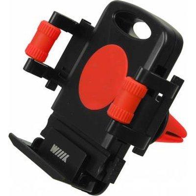 Держатель автомобильный Wiiix HT-WIIIX-01Vr красный/черный (HT-WIIIX-01VR), арт: 251002 -  Держатели автомобильные Wiiix