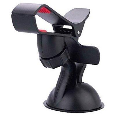 Держатель автомобильный Wiiix HT-S3Sgl черный (HT-S3SGL)Держатели автомобильные Wiiix<br>Держатель Wiiix HT-S3Sgl черный<br>