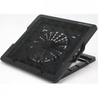 Подставка для ноутбука ZALMAN ZM-NS1000 (ZM-NS1000)Подставки для ноутбука ZALMAN<br>Теплоотводящая подставка под ноутбук Zalman ZM-NS1000<br>