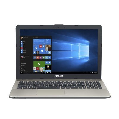 Ноутбук ASUS A541UV (90NB0CG1-M03170) (90NB0CG1-M03170)Ноутбуки ASUS<br>i7-6500U 4Gb 500Gb nV GT920MX 15,6 HD DVD(DL) BT Cam 2600мАч Win10 Черный/Золотистый 90NB0CG1-M03170<br>