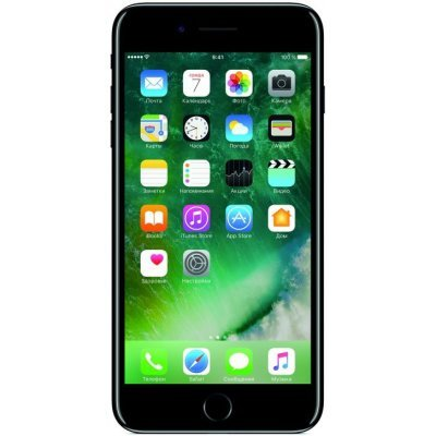 Смартфон Apple iPhone 7 Plus 128Gb черный оникс (MN4V2RU/A) iphone 4 в твери