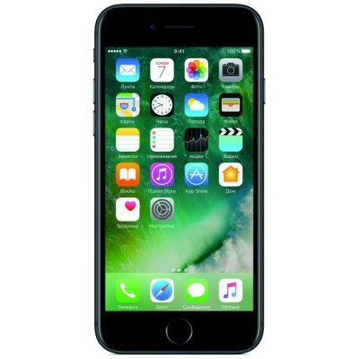 Смартфон Apple iPhone 7 128Gb (MN922RU/A) Black Matt (Черный) (MN922RU/A) usb flash накопитель 128gb kingston hyperx hxs3 128gb usb3 1 черный