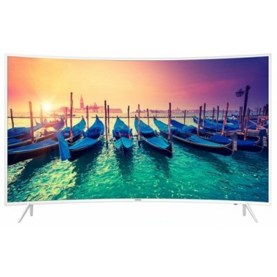 ЖК телевизор Samsung 55 UE55KU6510U (UE55KU6510UXRU)ЖК телевизоры Samsung<br>ЖК-телевизор, 4K UHD, диагональ 55 (140 см), Smart TV, Wi-Fi, HDMI x3, USB x2, DVB-T2, изогнутый экран, поддержка HDR, картинка в картинке<br>