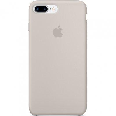 Чехол для смартфона Apple iPhone 7 Plus Silicone Case - Stone (MMQW2ZM/A)Чехлы для смартфонов Apple<br>Чехол для смартфона Apple iPhone 7 Plus Silicone Case - Stone<br>