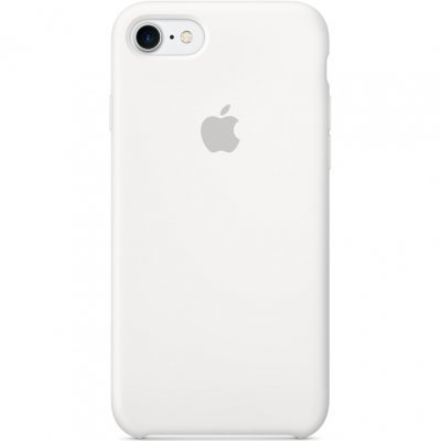 Чехол для смартфона Apple iPhone 7 Silicone Case White (MMWF2ZM/A)Чехлы для смартфонов Apple<br>Чехол для смартфона Apple iPhone 7 Silicone Case White<br>