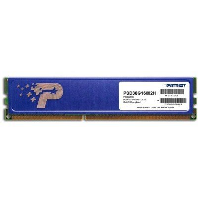 Модуль оперативной памяти ПК Patriot PSD38G16002H (PSD38G16002H)