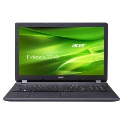 Ноутбук Acer Extensa EX2519-P79W (NX.EFAER.025) (NX.EFAER.025)Ноутбуки Acer<br>Ноутбук Acer Extensa EX2519-P79W Pentium N3710/4Gb/500Gb/DVD-RW/Intel HD Graphics/15.6/HD (1366x768)/Linux/black/WiFi/BT/Cam<br>