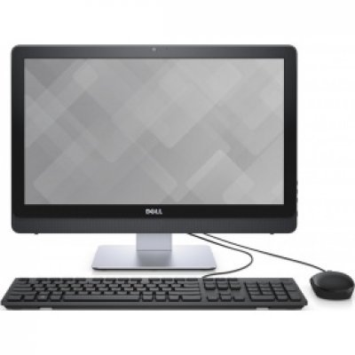 Моноблок Dell Inspiron 3263 (3263-2792) (3263-2792)Моноблоки Dell<br>Моноблок Dell Inspiron 3263 21.5 Full HD P N4405U (2.1)/4Gb/1Tb 5.4k/Windows 10 Home Single Language 64/GbitEth/WiFi/BT/45W/черный 1920x1080<br>