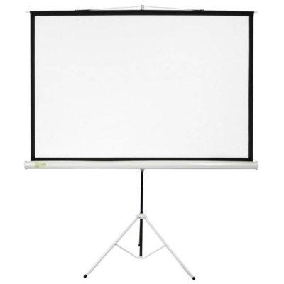 Проекционный экран Cactus CS-PST-180x180 (CS-PST-180X180)Проекционные экраны Cactus<br>Экран Cactus 180x180см Triscreen CS-PST-180x180 1:1 напольный рулонный белый<br>