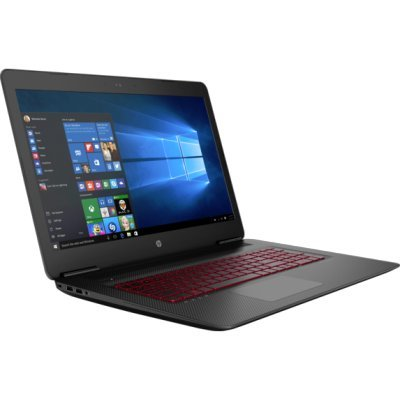 Ноутбук HP Omen 17-w102ur (Y5V57EA) (Y5V57EA) hp omen 17 w011ur [x5w66ea] black 17 3 fhd i7 6700hq 16gb 1tb 128gb ssd dvdrw gtx965m 4gb dvdrw w10