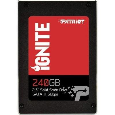 Накопитель SSD Patriot PI240GS325SSDR (PI240GS325SSDR)Накопители SSD Patriot<br>SSD жесткий диск SATA2.5 240GB IGNITE PI240GS325SSDR PATRIOT<br>