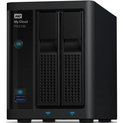 Сетевой накопитель NAS Western Digital WD My Cloud EX4  2BAY (WDBVND0000NBK-EEUE) (WDBVND0000NBK-EEUE)