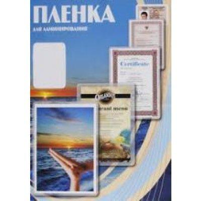 Пленка для ламинирования Office Kit 111х154 (60 мкм) 100 шт (PLP111*154/60) пленка для ламинирования office kit глянцевая 154х216 мм a5 75 мкм 100 шт в упаковке plp10220