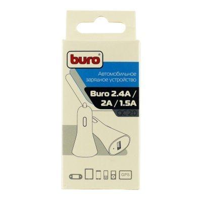 Автомобильное зарядное устройство Buro TJ-186 2.4A (TJ-186), арт: 251229 -  Автомобильные зарядные устройства Buro