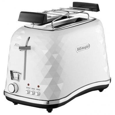 Тостер Delonghi CTJ 2103 W белый (CTJ 2103 W) тостер delonghi ctov 2103 az