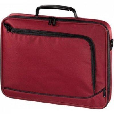 Сумка для ноутбука Hama 17.3 Sportsline Bordeaux красный/красный (101175 red) сумка для ноутбука 17 3 hama sportsline bordeaux черно серый полиэстер 101094