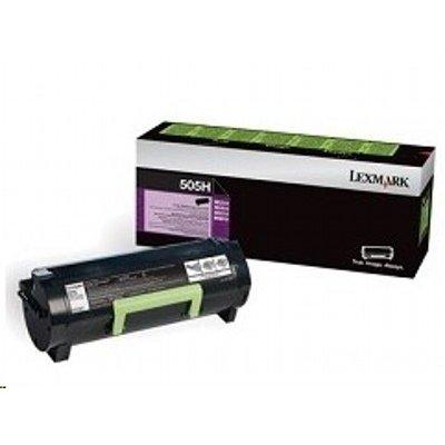 Тонер-картридж для лазерных аппаратов Lexmark для MS310/MS410/MS510/MS610, Corporate (5K) (50F5H0E)Тонер-картриджи для лазерных аппаратов Lexmark<br>Картридж с тонером высокой ёмкости для MS310/MS410/MS510/MS610, Corporate (5K)<br>