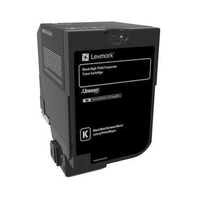 Тонер-картридж для лазерных аппаратов Lexmark для CS725de, CS720de (20 000 стр.) (74C5HKE)Тонер-картриджи для лазерных аппаратов Lexmark<br>Картридж с тонером черного цвета высокой емкости LRP для организаций (20 000 стр.) для CS725de, CS720de<br>