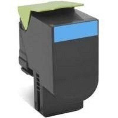 Тонер-картридж для лазерных аппаратов Lexmark для CX310/410/510, голубой, Corporate (3K) (80C8HCE)Тонер-картриджи для лазерных аппаратов Lexmark<br>Картридж с тонером высокой ёмкости для CX310/410/510, голубой, Corporate (3K)<br>