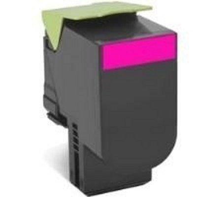 Тонер-картридж для лазерных аппаратов Lexmark для CX310/410/510, малиновый, Corporate (3K) (80C8HME)Тонер-картриджи для лазерных аппаратов Lexmark<br>Картридж с тонером высокой ёмкости для CX310/410/510, малиновый, Corporate (3K)<br>