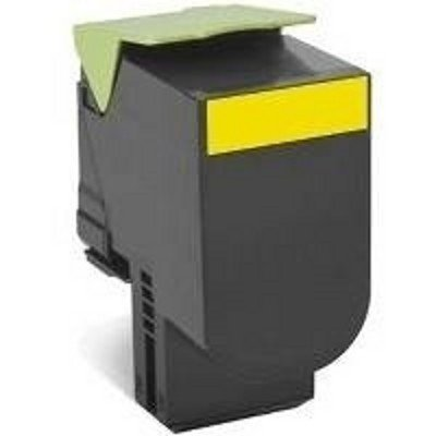 Тонер-картридж для лазерных аппаратов Lexmark для CX310/410/510, жёлтый, Corporate (3K) (80C8HYE) картридж lexmark 70c8hke для lexmark cs510 cs410 cs310 черный 4000стр