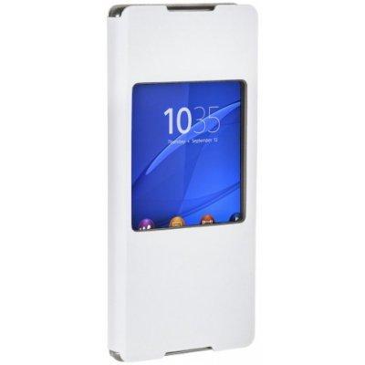 Чехол для смартфона Sony для Xperia Z3+ с окошком, белый (SCR30 White) sony xperia e5 f3311 white